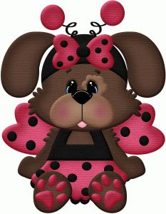 Silhouette Online Store: lady bug cane costume di Halloween