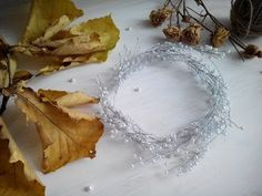 In this new DIY tutorial I will tell you how to make wedding decoration for your wedding hair style. Today we will make bridal hair vine from pearls, flowers. Diy Bridal Hair, Bridal Hair Vine, Wedding Crafts, Diy Wedding, Floral Crown Wedding, How To Make Diy, Tiaras And Crowns, Bridal Flowers, Wedding Hair Accessories