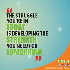 Without a struggle, there can be no progress. So struggle hard to secure your future!! ‪#‎owbaz‬ ‪#‎jobportal‬ ‪#‎struggle‬ ‪#‎strength‬