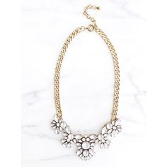 Crystal Glam Statement Necklace | Wink of Pink Shop