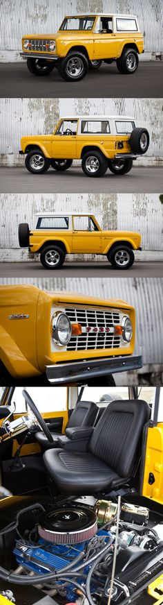 1968 Ford Bronco by Kindig It Design. Love Broncos...love Dave Kindig!