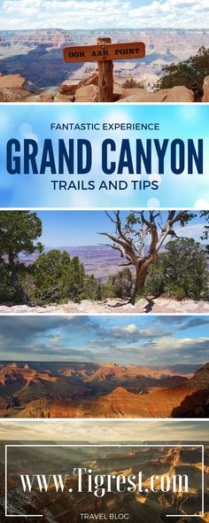 Grand Canyon trip - view points, tips and a lot of photos. Read our story and experience of the greatest place in the US!