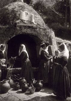 This is my Greece | Gastouri in Corfu island by Fred Boissonnas (1903-1930)