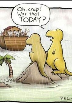 #funny #dinosaurs, Good clean humor! That's the most important thing, and besides this is my favorite explanation as to why dinosaurs are extinct..