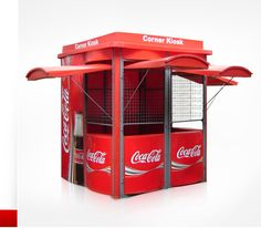 "Omni Kiosk Cabins:  Coca-Cola Kiosk.  ""I want it and I want it NOW!""  :-D"