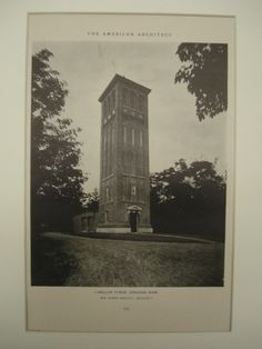 Carillon Tower , Hingham, MA, 1926, Wm. Roger Greeley