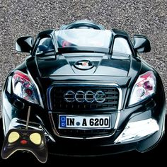 AUDI KIDS RIDE ON CARS ELECTRIC CHILDRENS 6V BATTERY REMOTE CONTROL TOY CAR