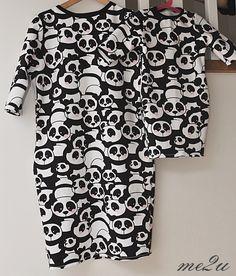 Sukienka w pandy/ panda's dress