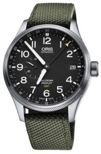 74877104164TS ORIS Big Crown ProPilot GMT Men Watch