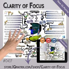 The Clarity of Focus IQ Matrix provides guidance to help you better assess and evaluate what's most important so you can make better life choices. People often get stuck focusing on the wrong things and getting lost in the non-essentials of life. This mind map explores how to identify those non-essentials and eliminate them from your life. What you are left with are just the most important things. As a result, you have more clarity...  #mentalfocus #productivity #mindmap #iqmatrix Cool Things To Make, How To Make, Life Choices, To Focus, Better Life, Assessment, Clarity, Productivity, Essentials