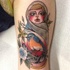 By Jon Sanford at Iron Works Tattoo; Portsmouth, NH.