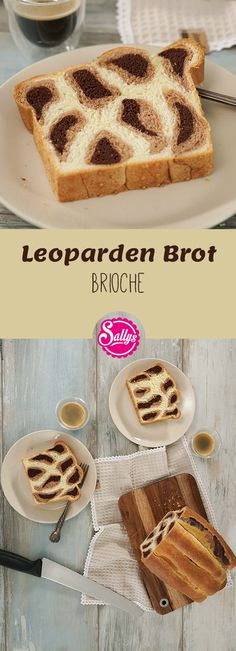 Das Leopardenbrot aus Brioche Teig ist ein echter Hingucker und in der Zubereitung gar nicht schwierig! Der Teig wird mit Kakao eingefärbt und die Stränge gewickelt, so dass das Muster entsteht.