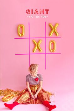 Valentine's Day Giant Tic Tac Toe | Oh Happy Day! | Bloglovin'