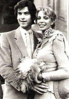 Pierce Brosnan and Cassandra Harris married in 1980