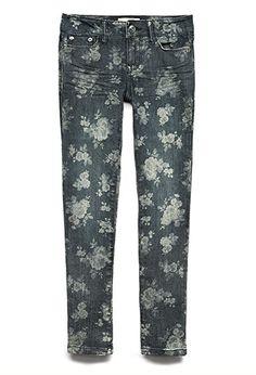 Dusty Rose Skinny Jeans (Kids) | FOREVER21 girls - 2040495779
