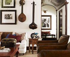 Kid Rock's home, interior design by Martyn Lawrence-Bullard
