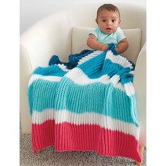 Free Easy Baby Blanket Knit Pattern