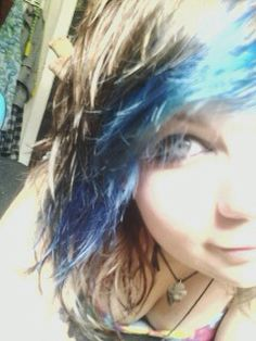 Blue and brown (: