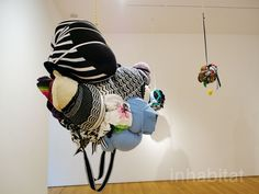 Shinique Smith's Curious Hanging Sculptures are Upcycled from Her Own Wardrobe