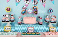 Super Girl Birthday Party