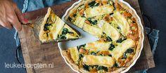 Een lekkere combi van groene groenten, zachte brie en hartige cashewnoten