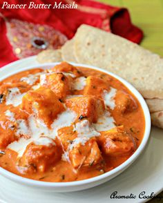 Paneer Butter Masala/Creamy Curry With Indian Cottage Cheese