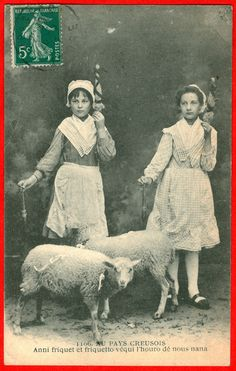 France, two girls spinning