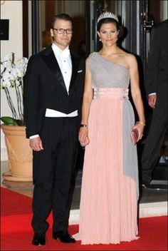Sweden's Crown Princess Victoria and Duke of Vastergotland of Sweden Prince Daniel