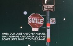 #skulls // #bastille.. Every single word of this song is amazing!