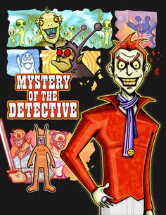 Mystery Of The Detective / Creator, Character and Illustration by PEPPERJERRY©