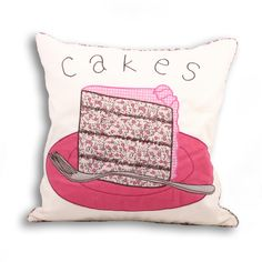 Fun and stylish, this stunning Paoletti Cakes cushion is right on trend. A beautiful feature piece in any modern kitchen.