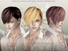 Toddler Hair The Sims3 Male Hair Female Hair Child Hair  by KEWAI DOU