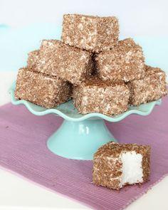 Recipe in Swedish - kokosmums Home Made Candy, Breakfast Basket, Muffins, Scandinavian Food, Sandwich Cake, Candy Cakes, Homemade Candies, Dessert Bread, Candy Recipes