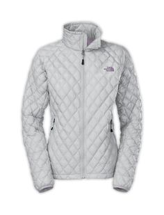 Free Shipping On Women's Thermoball Jacket   The North Face High Rise Grey