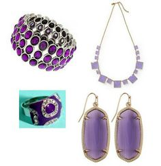 Radiant orchid jewelry