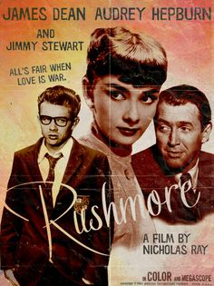 """Rushmore"" What If... Poster © 2012 by Peter Stults  http://www.behance.net/gallery/Movies-From-An-Alternate-Universe/2783319"