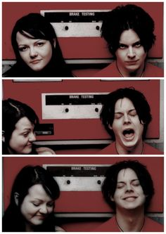 Meg White, Jack White, Emo Love, The Third Man, The White Stripes, Music Albums, Shades Of White, Red Aesthetic, My Favorite Music