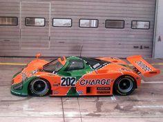 "Mazda 787B "" Rotary Rocket  ""; Le Mans 24 hour race winner in 1991."