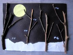 Nighttime creatures craft...nocturnal animals craft