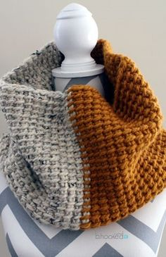 Tunisian Crochet Super Cowl More