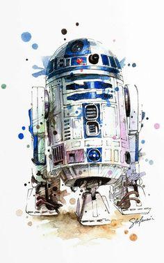 Star Wars Art on BehanceYou can find Star wars art and more on our website.Star Wars Art on Behance Bb8 Star Wars, Star Wars Fan Art, Star Wars Desenho, Star Wars Zeichnungen, Images Star Wars, Star Wars Painting, Star Wars Drawings, Art Drawings, Star Wars Tattoo