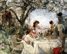 The Little Faun by Charles Sims by BoFransson, via Flickr