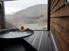 Jacuzzi Hot Tub + Mountains + View + Fall / Autumn