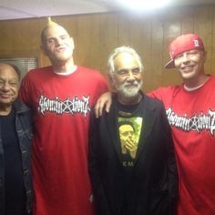 cheech and chong with twiztid...i don't think ill ever get used to a thin jamie!
