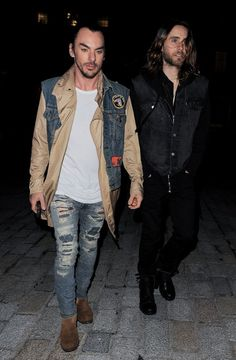 Jared Leto and Shannon Leto leaving Esquire Summer Party - 29th May 2013