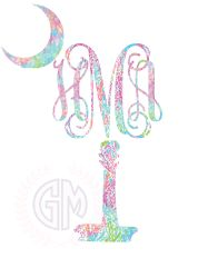 palmetto lilly pulitzer inspired lets cha cha carolina decal moon car decal sticker . Car Monogram, Car Decals, Lilly Pulitzer, Preppy, Cricut, Moon, Stickers, Decorating, Boutique