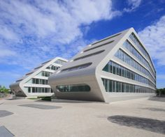 H2Office, Duisburg | Germany by BRT Bothe Richter Teherani | Germany / ALUCOBOND®, brilliant metallic, silver metallic