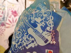 Fashion Spray - nove fantastične boje za tekstil! — Hobby Art Chemaco Drawstring Backpack, Textiles, Bags, Painting, Decor, Fashion, Handbags, Decoration, Decorating
