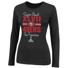 San Francisco 49ers Ladies Super Bowl XLVII Bound At the Show Long Sleeve T-Shirt