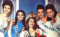 Miss Venezuela - Mariela Perez Branger - Queda como Virreina del Universo 1967...